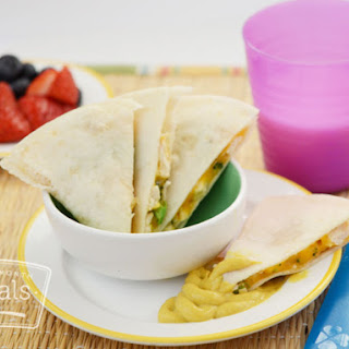 Kid Friendly Chicken and Broccoli Quesadilla