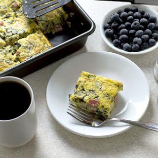 Ham, Ricotta and Spinach Casserole Recipe