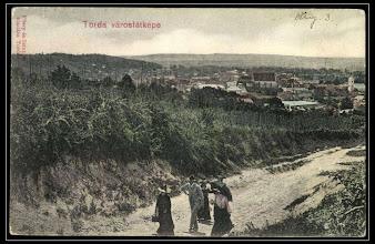 Photo: 1910 - vedere de pe Str. Malului sursa foto. Facebook, Fan Turda https://www.facebook.com/fanturda/photos/pb.416939068355354.-2207520000.1433658554./824715880911002/?type=3&theater  Régi képeslapok