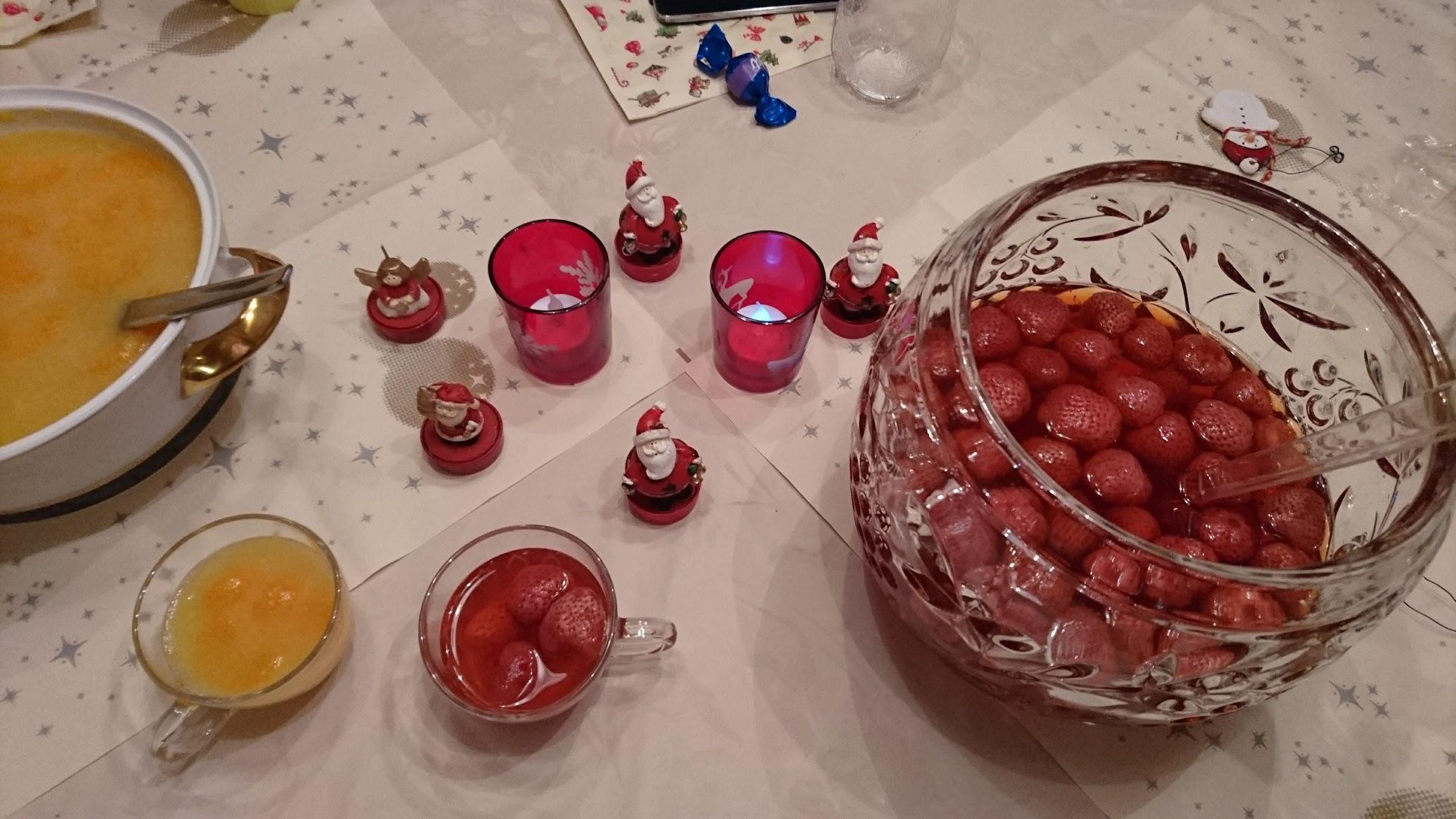 Bowle Heiligabend Kinderbowle