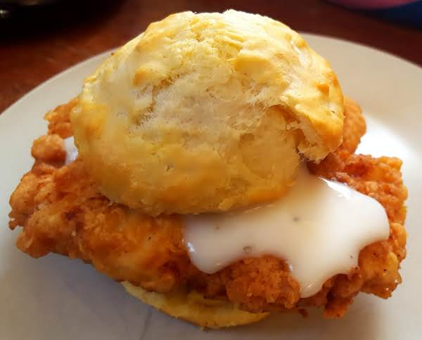 Southern Style Chicken In A Biscuit