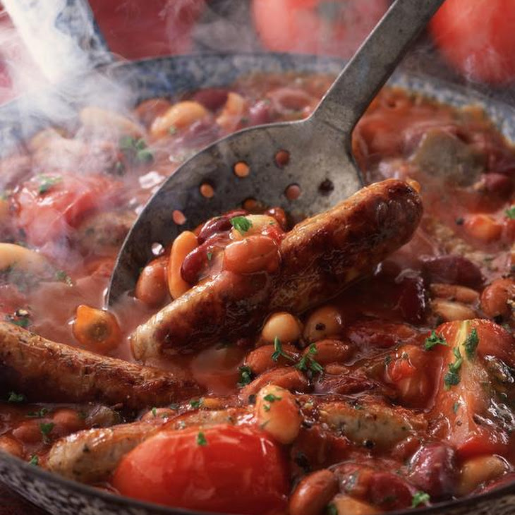 Franks and Beans in Tomato Sauce