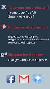 LogDog: Anti-Piratage (Hacker) Capture d'écran