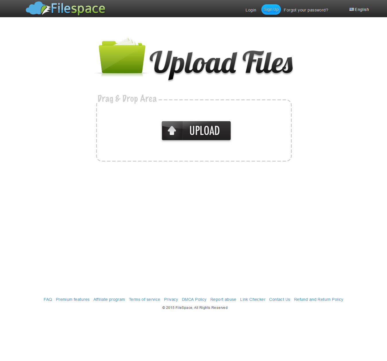 The Simplistic Filespace Website