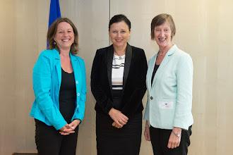 Photo: Vera Jourova receives representatives of the European Network of Equality Bodies