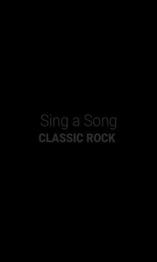 Sing a Song Classic Rock