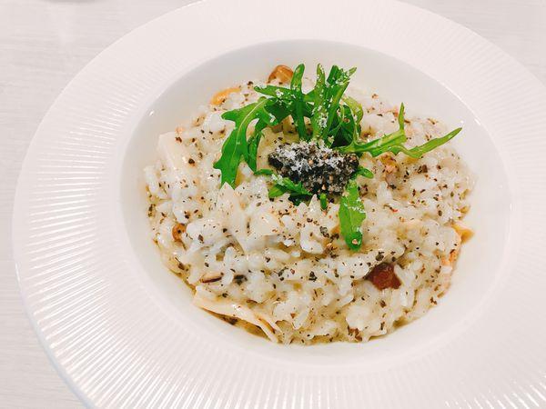 台中南屯 巧巧咖啡義式晚餐~義大利麵燉飯