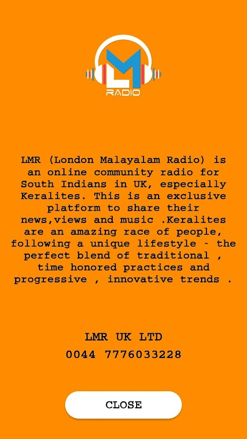 LMR (London Malayalam Radio )- screenshot