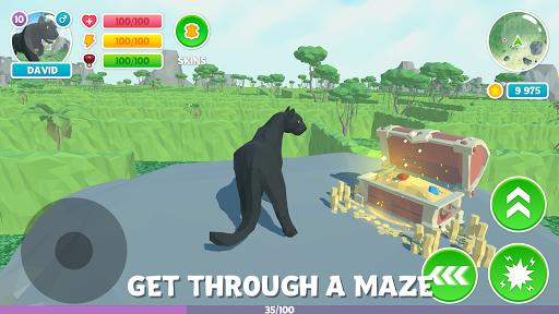 Panther Family Simulator 3D: Adventure Jungle  captures d'écran 1