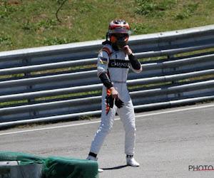 De race moest echt niet veel langer duren: Stoffel Vandoorne moest bolide vlak na finish aan de kant zetten