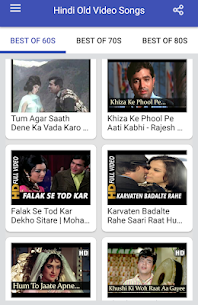 Hindi Old Songs Video App Download For Android 5