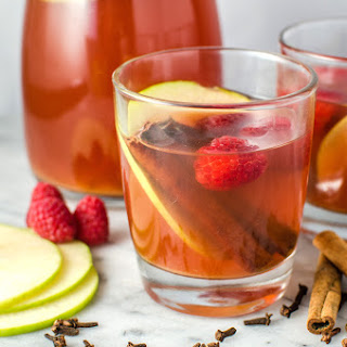 Spiced Raspberry Apple Cider
