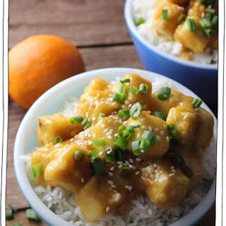 Orange Ginger Tofu Recipe