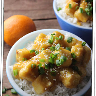 Orange Ginger Tofu