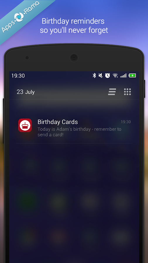 how to send automated birthday wish in android p