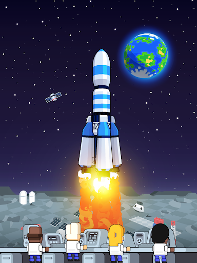 Rocket Star - Idle Space Factory Tycoon Game android2mod screenshots 15