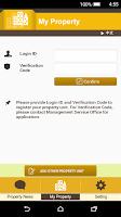 Screenshot of My Property Information App