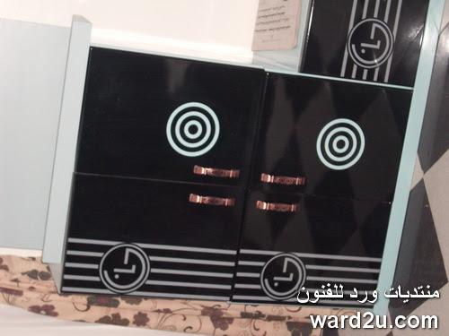 من تصميمى مكتبه تليفزيون lcd