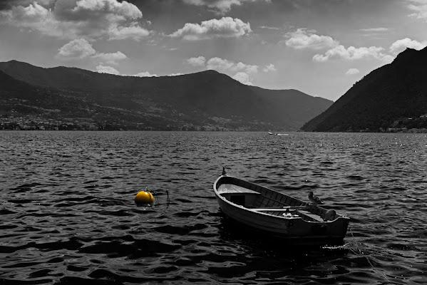 Yellow loner buoy...