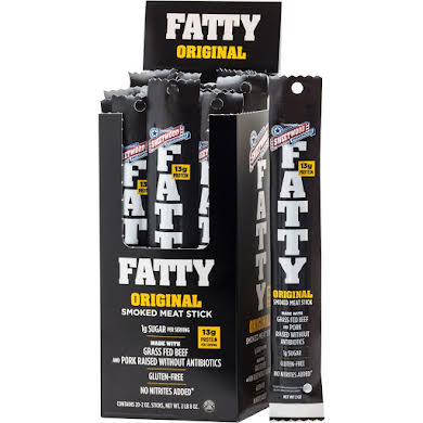 Sweetwood Cattle Co. FATTY Smoked Meat Stick: 2oz ea, Box of 20