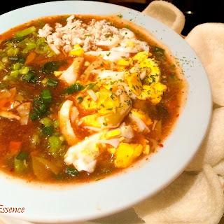 Szechuan Style Hot & Sour Chicken Soup