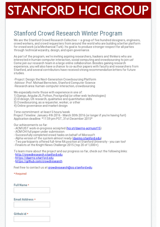 free online research papers stanford