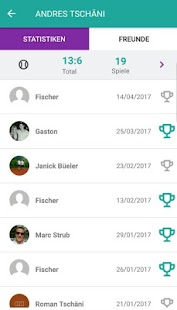 FRIENDSRACKET – Miniaturansicht des Screenshots