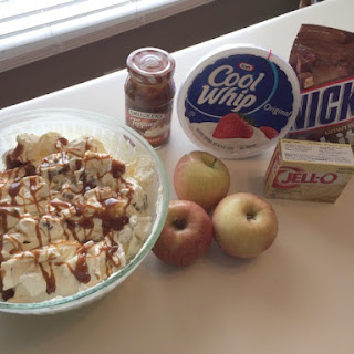 Snickers Apple Cool Whip Dessert Recipes