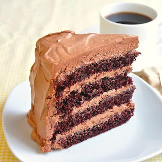 Chocolate Buttercream Cake.