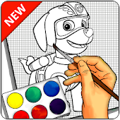 How To Draw PAW Patrol - Easy