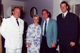 Photo: #002-Soirée de gala avec le Commandant Cantais et le Chef de village Thierry Kopferschmitt sur le Club Med 1