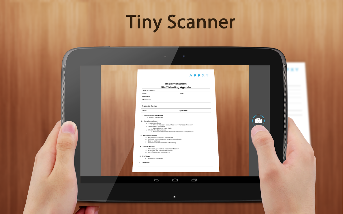 Tiny Scanner : Scan Doc to PDF: captura de tela