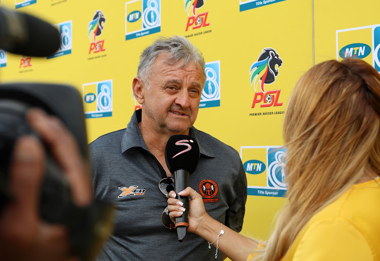 Polokwane City head coach will be pleased his team did not concede the away gaol to Highlands Park.
