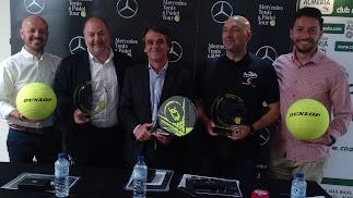 La presentación del XX Torneo Saveres ha sido en el Club Natación Almería.