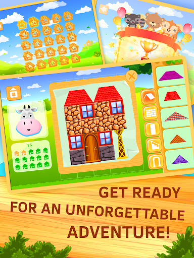 Building Construction Puzzle. Put bricks by plan. android2mod screenshots 9