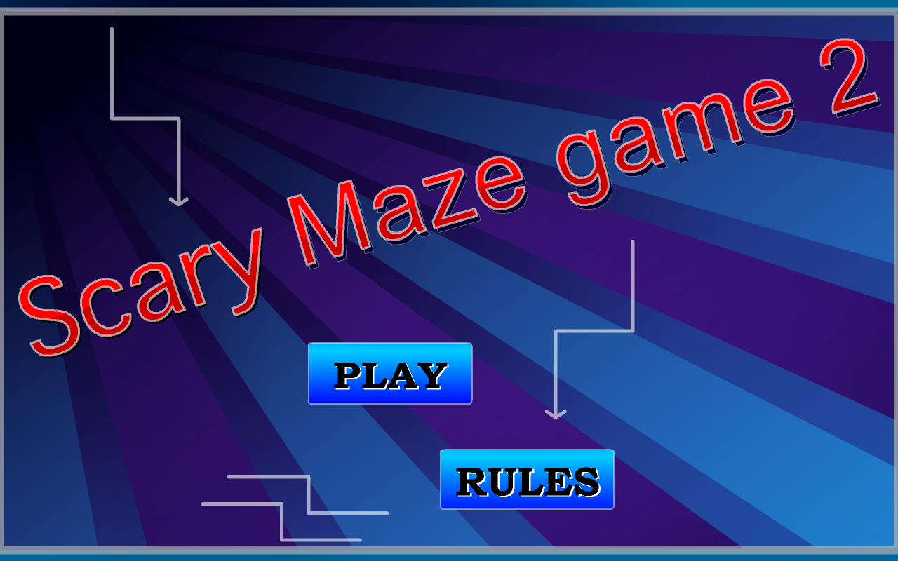 Scary Maze Game 2- screenshot