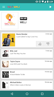 104.7 WELJ- screenshot thumbnail