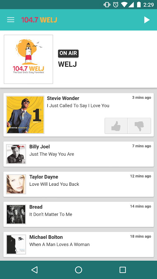 104.7 WELJ- screenshot