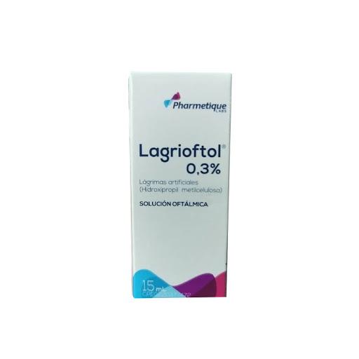 Lagrimas artificiales Lagrioftol 0.3% 15ml hidroxipropilmetilceluosa solucion oftalmica pharmetique