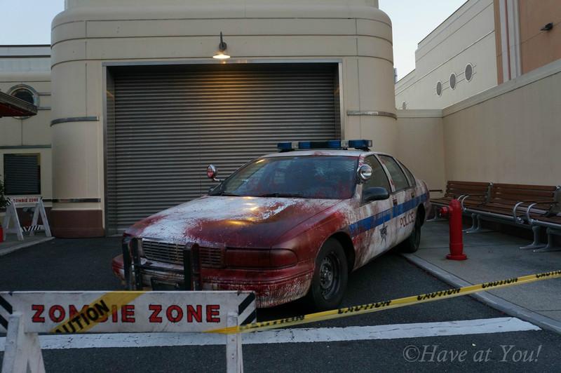 USJ Zombie car