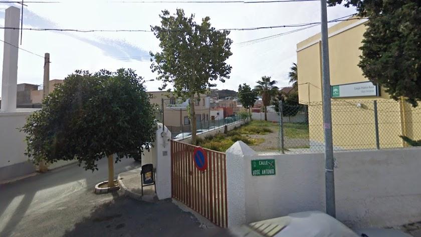 Calle José Antonio en Huércal de Almería.