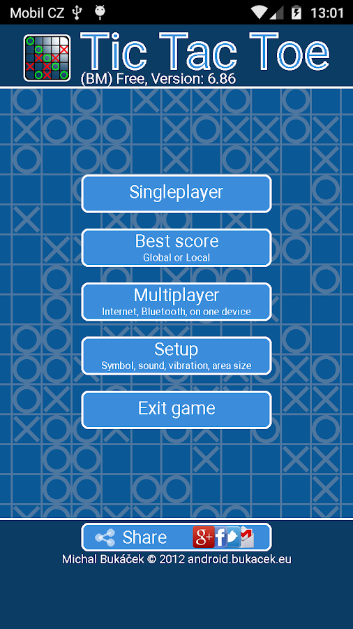 TicTacToe- screenshot
