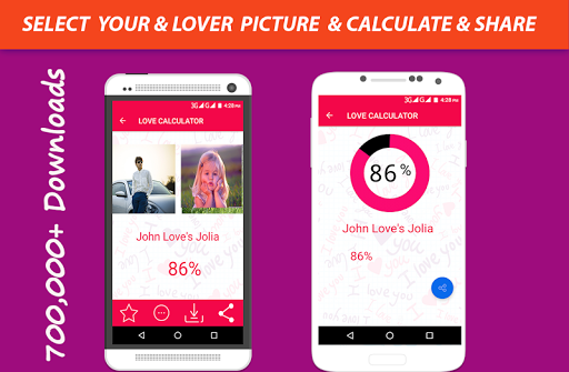Love calculator software download free.