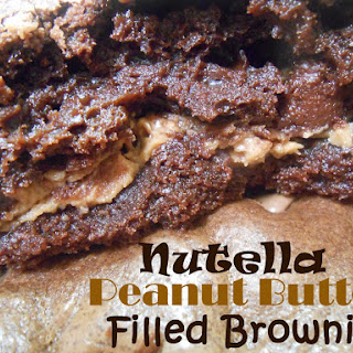 Nutella PB Filled Brownies with Casey and Don!