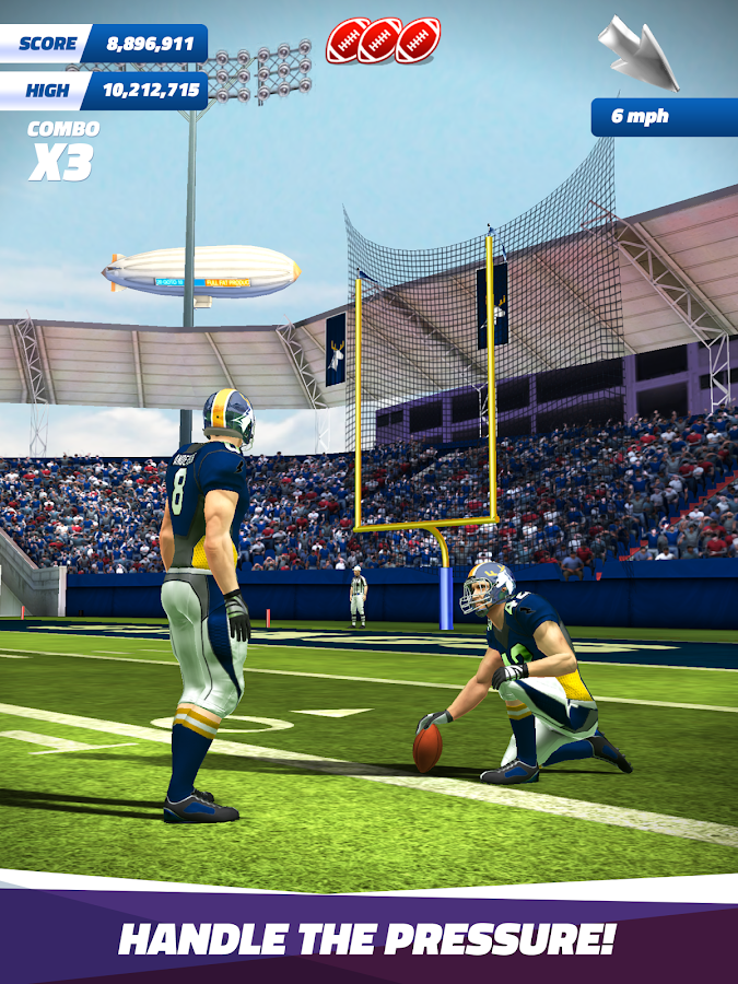 Flick Field Goal 18- screenshot