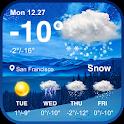 New Weather App & Widget for 2018 icon