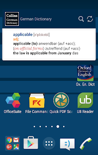 Collins Complete German Dict- screenshot thumbnail