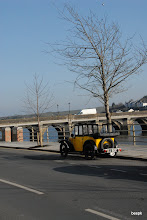 Photo: Bideford very cold, but a beautiful day