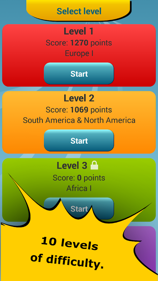Countries Location Maps Quiz  Android Apps on Google Play