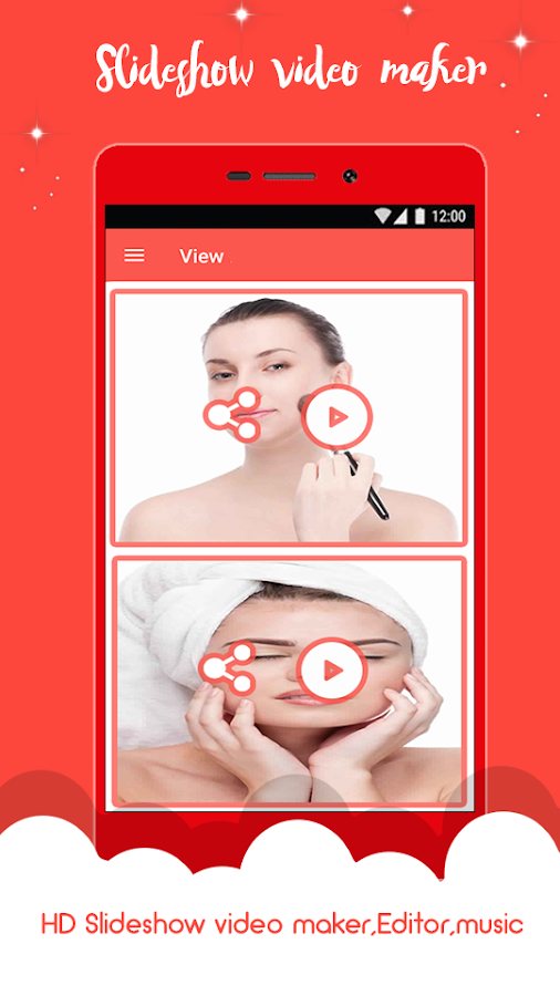 Photo Video Maker With Music x- screenshot